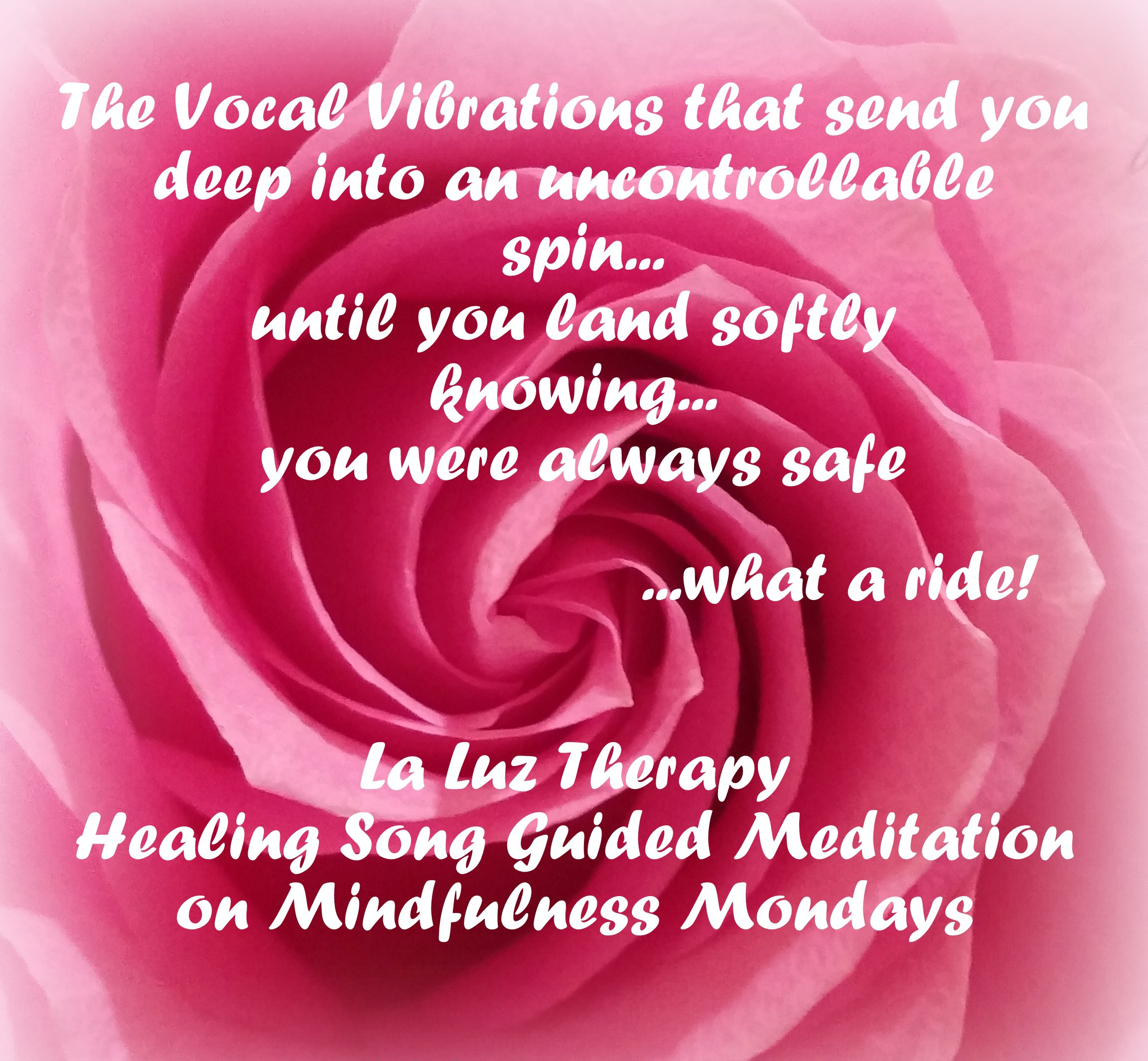 Healing Song Guided Meditation - La Luz Therapy www.laluztherapy.com Lucy Toppetta