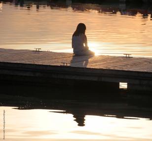 Meditation dock