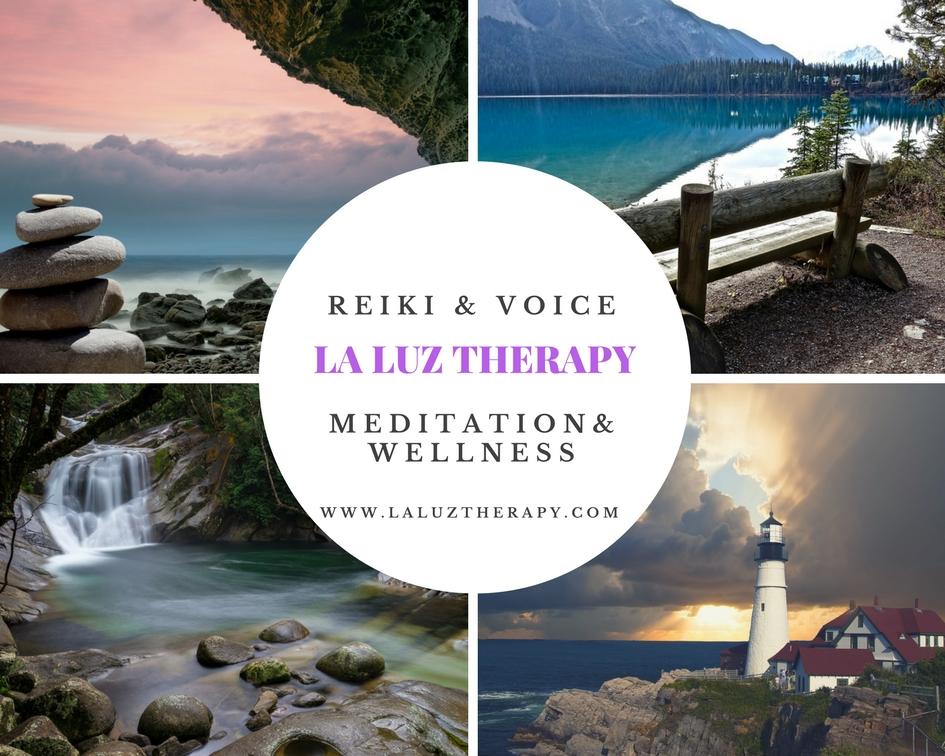 La Luz Therapy www.laluztherapy.com reiki meditation wellness vocal sound therapy Lucy Toppetta